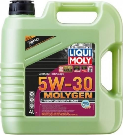 Λιπαντικό Κινητήρα Liqui Moly Molygen New Generation DPF 5W30 4lt