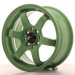 Japan Racing Wheels JR3 Green 15*7