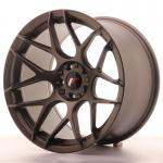 Japan Racing Wheels JR18 Matt Bronze 18*10.5