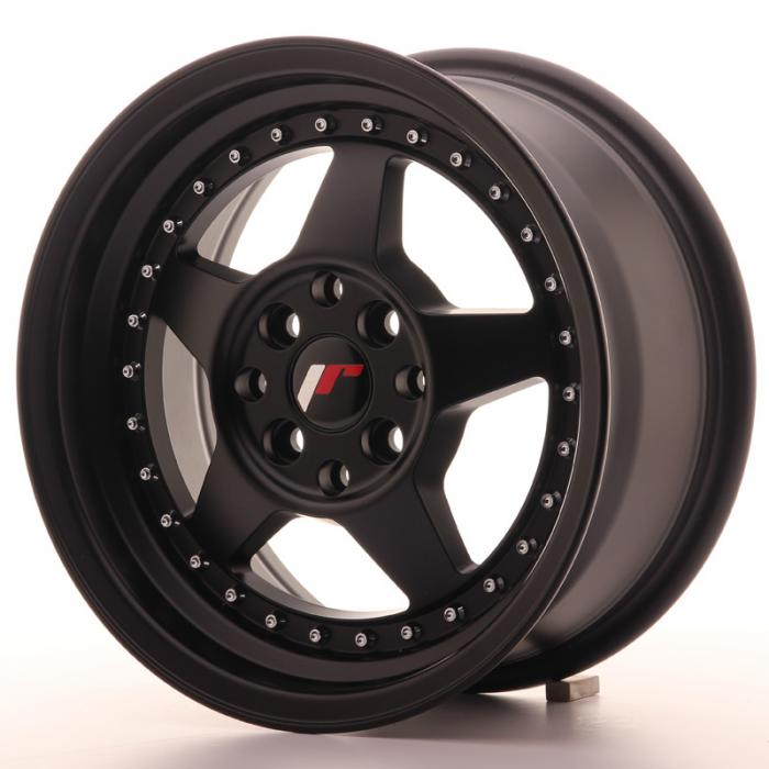 Japan Racing Wheels JR6 Matt Black 15*7