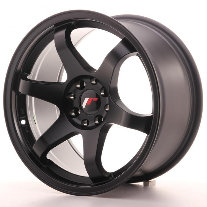 Japan Racing Wheels JR3 Matt Black 17*9