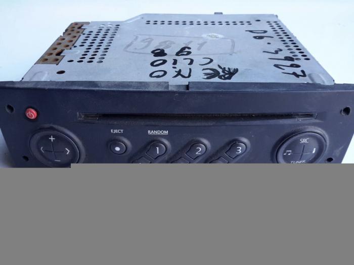 Ράδιο CD RENAULT CLIO ( BB ) Ηatchback / 5dr 1998 - 2001 1200  ( D7F 710 / 720 / 726 / 766 )  Petrol  58 #XC3927