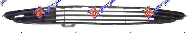 Δίχτυ Προφυλακτήρα PEUGEOT 206 Cabrio / 2dr 2000 - 2008 ( CC ) 1600 NFU (TU5JP4) Petrol 109 #025604800