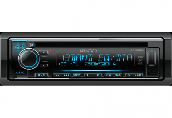 RADIO CD/MP3/USB Kenwood KDC-320UI