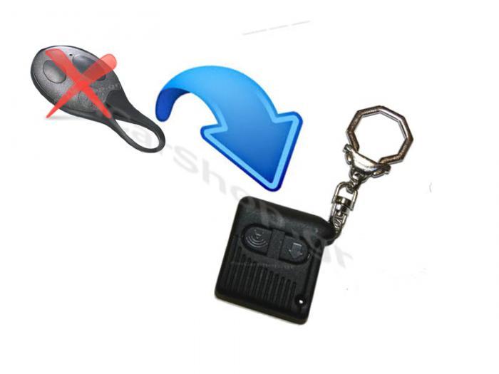 Ανταλλακτικό Τηλεχειριστήριο Συναγερμού  GT Alarm Κωδ.: GT 82N Αντικ/ση GT 82TXS