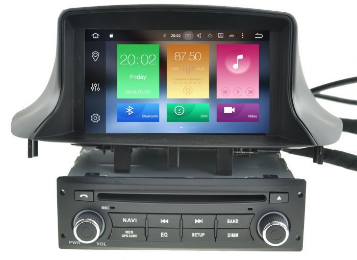 Ειδική OEM Οθόνη Αυτοκινήτου LM Model: J322 GPS (DVD)