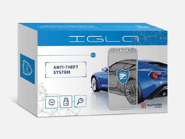 Αόρατο Σύστημα Ασφαλείας Αυτοκινήτου Igla 200
