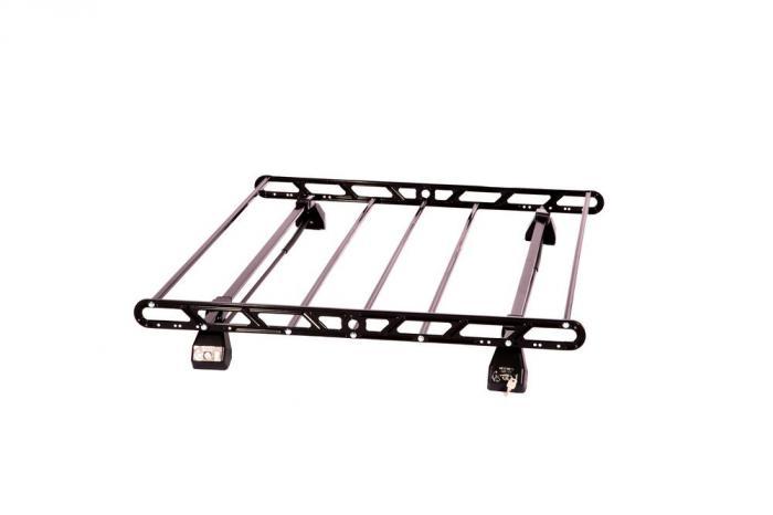 Σχάρα Οροφής Αυτοκινήτου Hermes SGS1 Set (KIT S1450) Μεταλλική Μαύρη