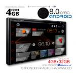 IQ-AN8690_GPS (DVD) Multimedia 2 DIN 7΄΄ – ANDROID 8  OREO