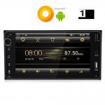 MULTIMEDIA OEM TOYOTA ALL ANDROID 8.1 OREO , 6.95inch Full HD Touchscreen, Resolution 1024x600pixels, 4×50 WATT, 1GB RAM