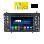 MULTIMEDIA OEM MERCEDES SLK (R171) ANDROID 9 PIE , 7inch Full HD Touchscreen, Resolution 1024x600pixels, 4×50 WATT