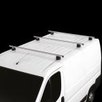 OPEL MOVANO COMMERCIAL 7/98>7/10 Μπάρες οροφής αλουμινίου 180 cm - Σετ 3 μπάρες