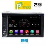 MULTIMEDIA 2DIN 6.5΄΄ – ANDROID 9 PIE – CPU : MTK A9 1.3Ghz – Quad core – RAM DDR3 2GB
