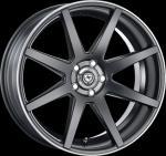 ArtFORM AF-302 Flat black rim polished Wheel 9.5x19 - 19 inch 5x112 bold circle