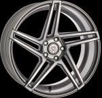 ArtFORM AF-601 smoke grey polished Wheel 8.5x19 - 19 inch 5x112 bold circle