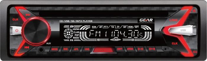 GEAR - ΡΑΔΙΟ CD/USB/ΜΡ3, ΜΕ ΠΟΛΛΑΠΛΟ ΦΩΤΙΣΜΟ GR-3250