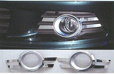 SCHATZ - Mercedes C Class W204 - Πλαίσιο χρωμίου προβολείς ομίχλης, σετ 2 τεμ.