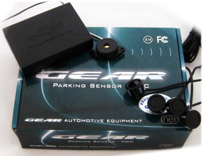 GEAR - Σύστημα Παρκαρίσματος ηχητικό, 4 μάτια διαιρούμενα