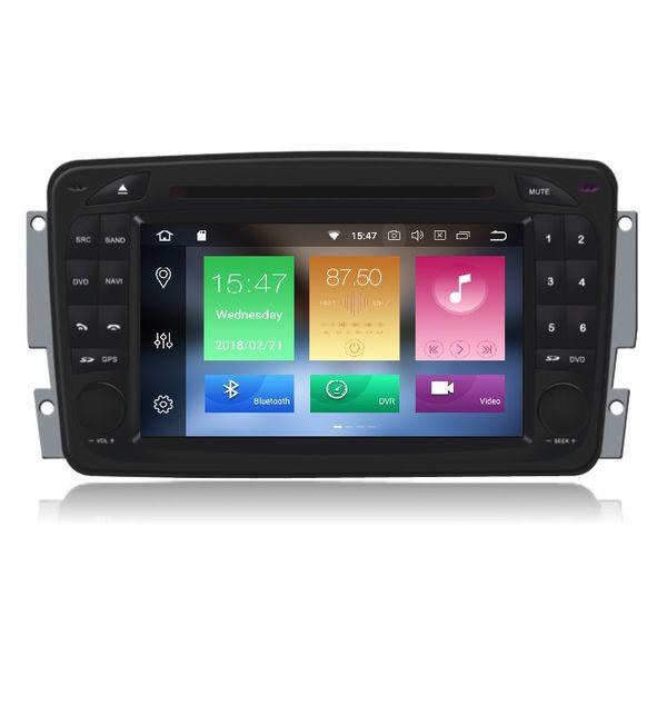 Bizzar Mercedes C / CLK / Viano / Vito Class Android 8.0 8core Navigation Multimedia U-BL-A8-MB13