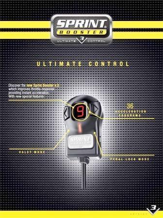 Sprint Booster - Engine Tuning VOLVO C30 / C70 / S40 / S60 / S80 / V50 / V60 / V70 / XC60 / XC70 / XC90 2006+
