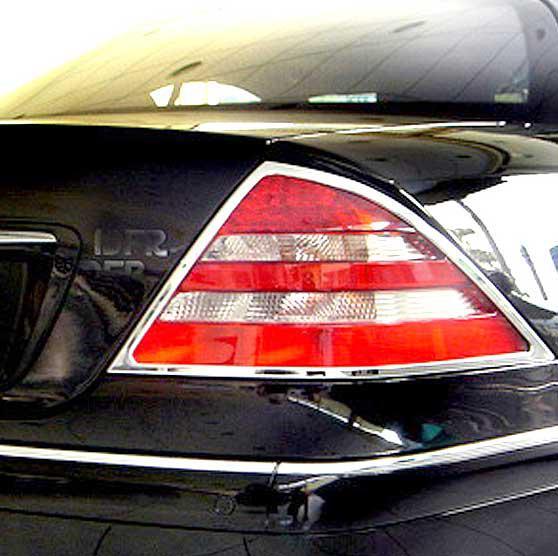 SCHATZ - ΧΡΩΜΙΑ ΠΙΣΩ ΦΩΤΩΝ Mercedes Benz CL C215, 1999–2006