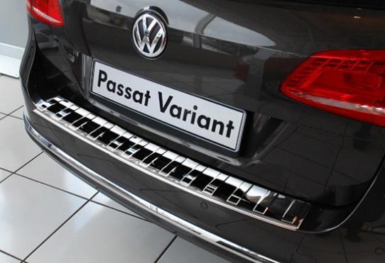 SCHATZ - ΠΡΟΣΤΑΤΕΥΤΙΚΟ ΧΡΩΜΙΟΥ ΟΠΙΣΘΙΟΥ ΠΡΟΦΥΛΑΚΤΗΡΑ VW Passat Variant B7 2010–2014 - 1 ΤΕΜΑΧΙΟ
