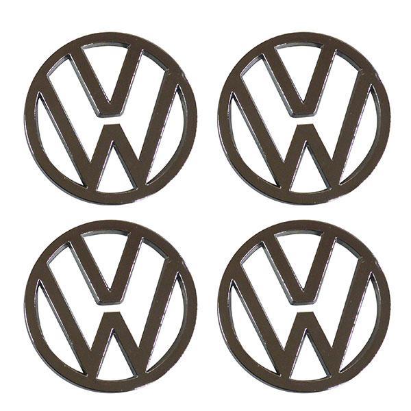 ΤΑΠΕΣ ΚΕΝΤΡΟΥ ΖΑΝΤΑΣ VW ΧΡΩΜΙΟ/ΓΚΡΙ ΚΟΥΜΠΩΤΕΣ ΔΙΑΜΕΤΡΟΥ 59MM 4ΤΕΜ.
