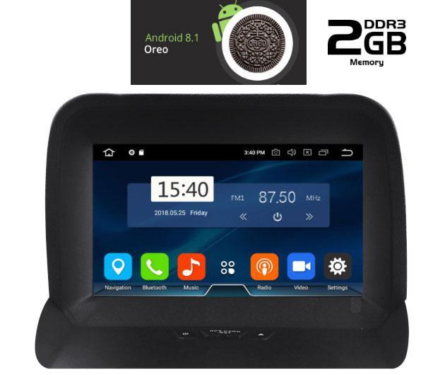 IQ-AN8153 GPS Συσκευή OEM  FORD TOURNEO COURIER mod. 2014-2017 MULTIMEDIA