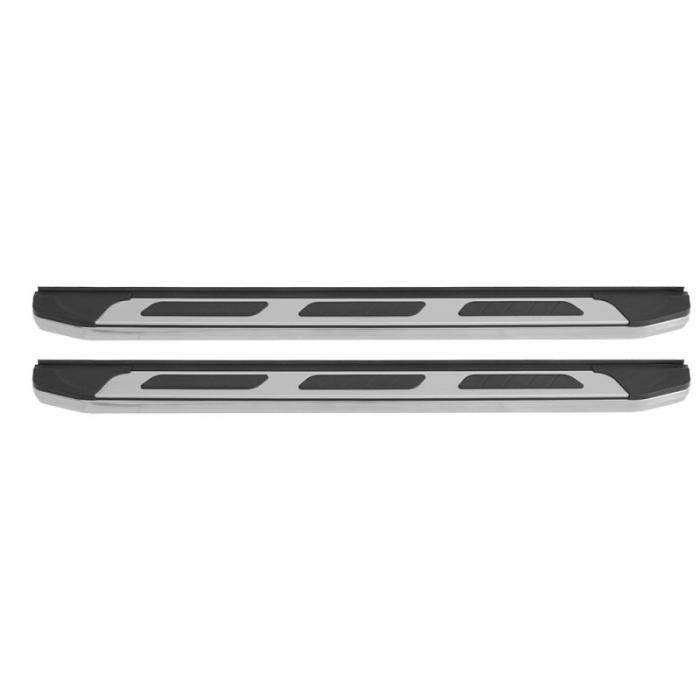 Σκαλοπάτια Αλουμινίου Πλατιά Βαρέως Τύπου Αντιολισθητικά ISUZU D-MAX 2012+