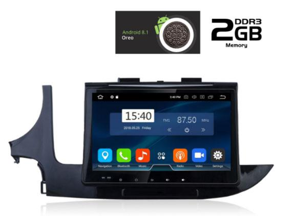 IQ-AN8236 GPS MULTIMEDIA OEM OPEL MOKKA  2016>   ANDROID 8.1