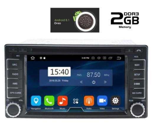 IQ-AN8062 GPS MULTIMEDIA  OEM  SUBARU IMPREZA – FORESTER  2008>  ANDROID 8.1