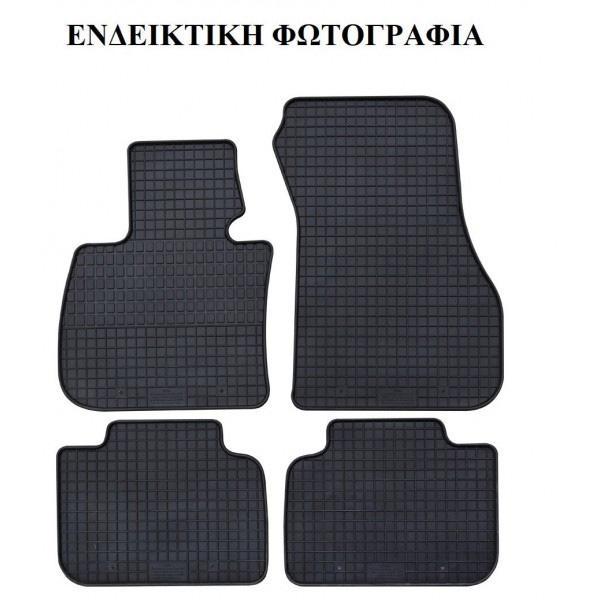 PETEX - Μαρκέ Πατάκια Λάστιχο SET 4 τεμαχίων για BMW Mini Cooper 3πορτο 03/2014->