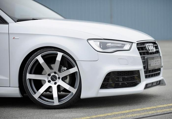 RIEGER Εμπρός Σπόιλερ Audi A3