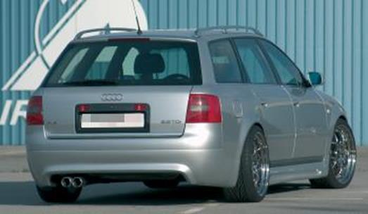 RIEGER Πίσω Σπόιλερ with PDC, Estate Audi A6 4B