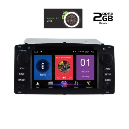 IQ-AN8010M_GPSMULTIMEDIA  OEM  TOYOTA COROLLA  2000-2006  ANDROID 8.1  OREO