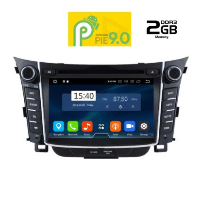 IQ-AN9156_GPS MULTIMEDIA OEM HUYNDAI i30  2012-2017   8΄΄ – ANDROID 9  PIE