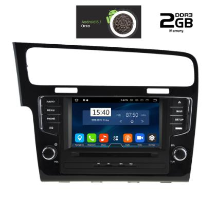 IQ-AN8257_GPSMULTIMEDIA  OEM  VW GOLF 7  2013>  ANDROID 8.1  OREO