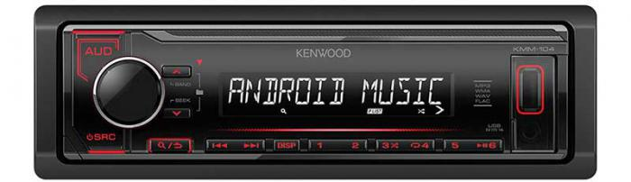 Kenwood KMM-104RY Digital Media Receiver with Front USB & AUX Input