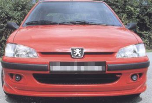 Musketier – Εμπρόσθιο σπόιλερ – front lip spoiler Tuning Peugeot 106 II