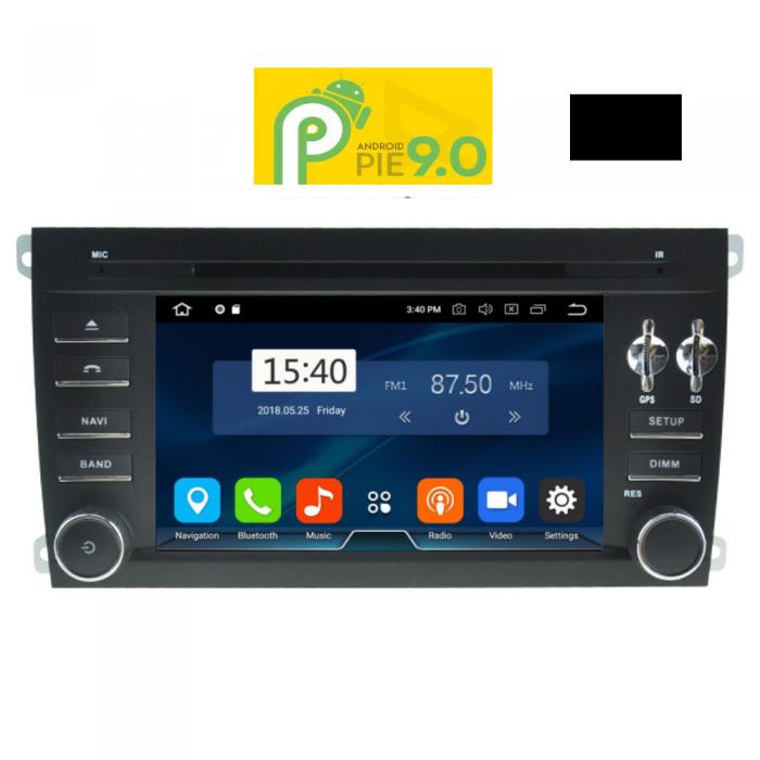 MULTIMEDIA OEM PORSCHE CAYENNE 2002-2011 ANDROID 9 PIE , 7inch Full HD Touchscreen, Resolution 1024x600pixels, 4×50 WATT, 2GB RAM
