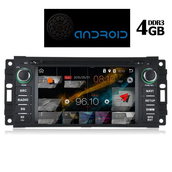 MULTIMEDIA OEM CHRYSLER – DODGE – JEEP 7inch Full HD Touchscreen, Resolution 1024x600pixels