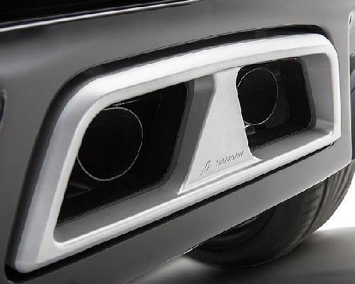 Σετ Μπούκες – Hamann rear muffler Race Si4 with silver end pipe cover fits for Land Rover Range Rover Evoque