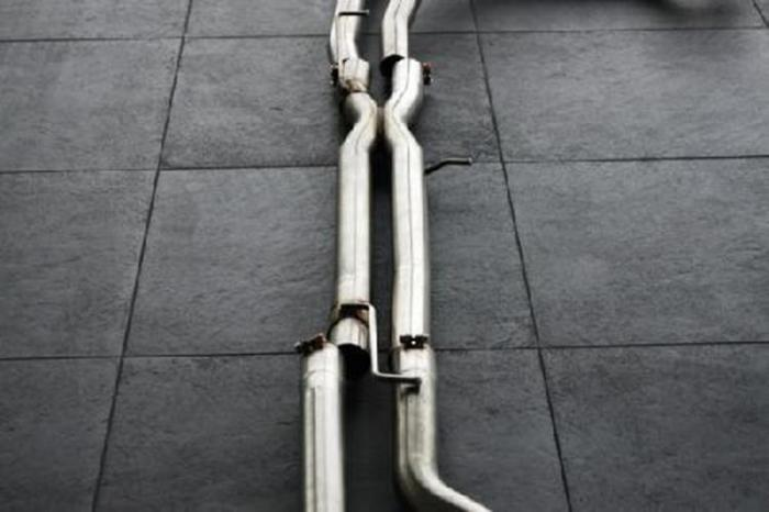 Μεσαίο Τμήμα Εξάτμισης – Hamann middle pipe set for 5.0 V8 Supercharged fits for Land Rover Range Rover Sport