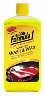 FORMULA 1 ΣΑΜΠΟΥΑΝ ΜΕ ΚΕΡΙ CARNAUBA WASH & WAX - 473ML