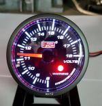 Οργανο Voltmeter Smoke (Auto Gauge) - 442