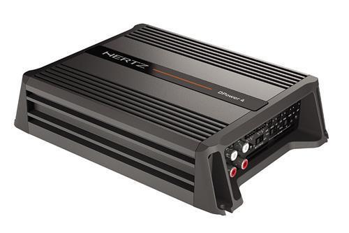 DPower 4/ D Class 4 CH Amplifier (HERTZ) - 1071