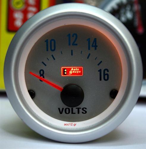 Οργανο Μπαταρίας Volts (Auto Gauge) - 657