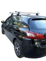 MENABO Kit Μπάρες Αλουμινίου MENABO - Πόδια για Peugeot 308 2013+ ΜΠ.P308.04