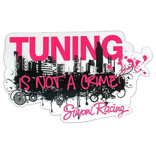 Simoni Racing Αυτοκόλλητο CITY TUNING SCS/CITY