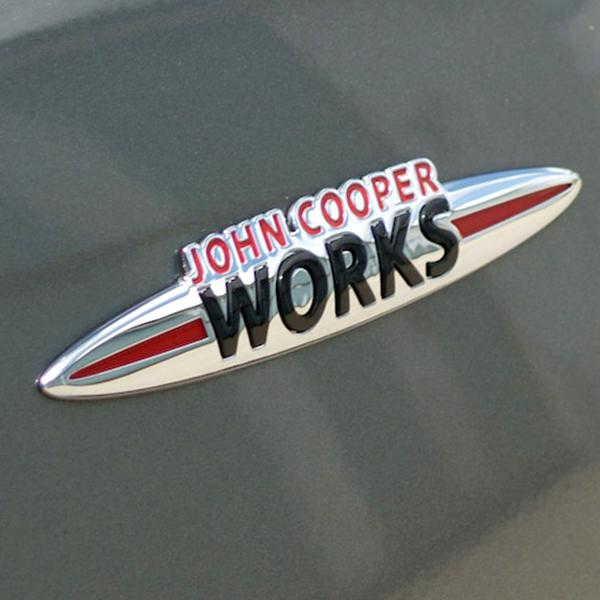 Σήμα 3D John Cooper Works για Mini Cooper JCW.01